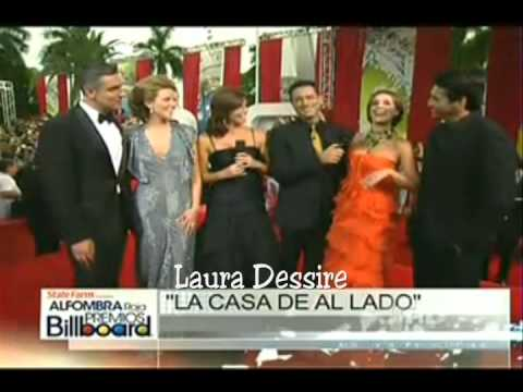 Catherine Siachoque  Miguel Varoni  Maritza  y Gabriel Red Carpet Billboards 2011