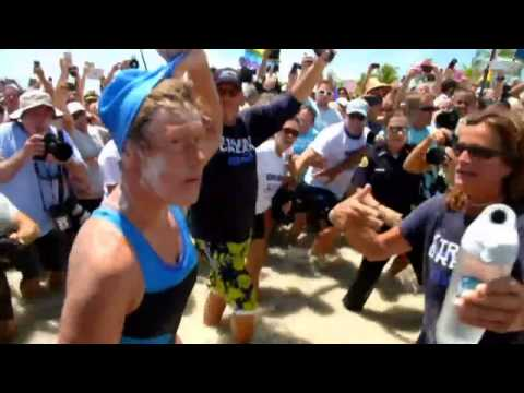 Diana Nyad makes history with Cuba-Florida swim