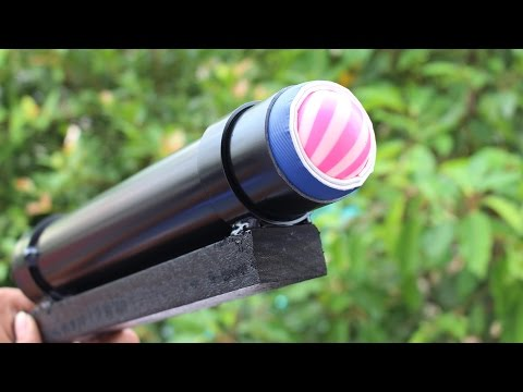 Cách làm súng BAZOOKA bằng ống nhựa pvc cực mạnh