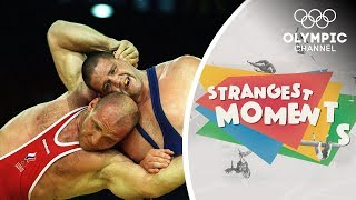 The Day a Wrestling Legend was Defeated | Strangest Moments