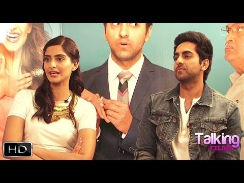 Ayushmann Khurrana Sonam Kapoor Fun Interview On Bewakoofiyaan Part 1