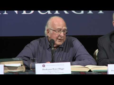Nobel celebrations for Peter Higgs