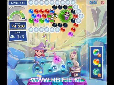 Bubble Witch Saga 2 level 244