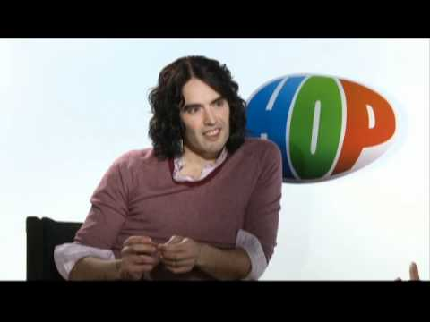 Russell Brand Talks about Hop The Movie, To Be Release April 1, 2011