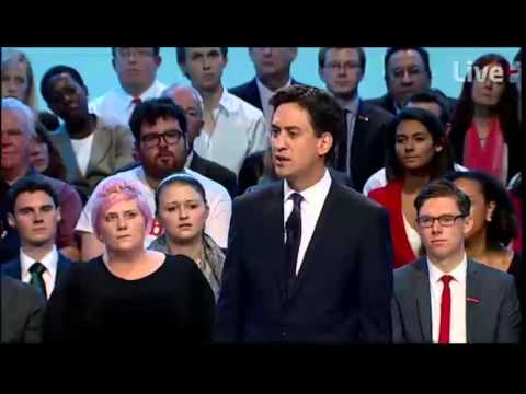 Ed Miliband Conference 2013 Speech --