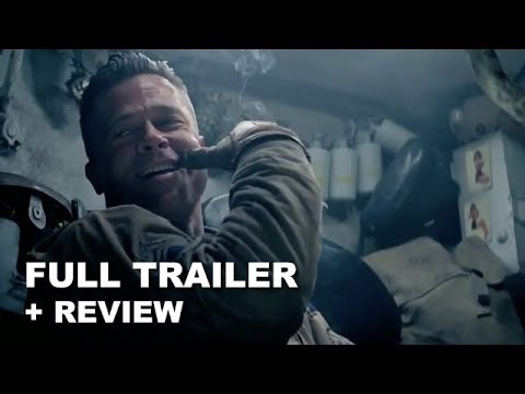 Fury Official Trailer 2014 + Trailer Review - Brad Pitt : Beyond The Trailer