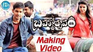 Brahmotsavam Exclusive Working Stills - Mahesh Babu,Kajal ,Samantha