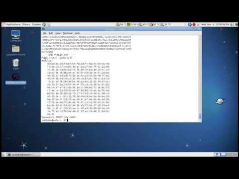OpenSSL Tutorials #4: RSA key Creation and Encryption/Decryption