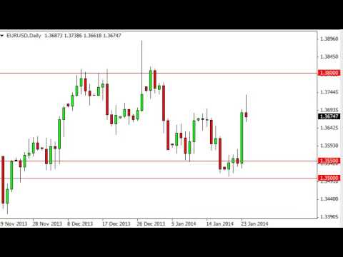 EUR/USD Technical Analysis for January 27, 2014 by FXEmpire.com