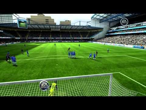 Hướng dẫn cách sút phạt kiểu UFO Kick trong FIFA Online 3