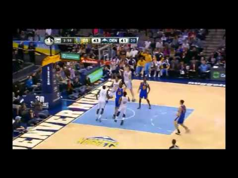 NBA CIRCLE - Golden State Warriors Vs Denver Nuggets Highlights 23 Dec. 2013 www.nbacircle.com