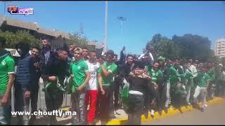 بالفيديو.. أجواء هيستيرية رائعة للجماهير الرجاوية قبل ولوج مركب محمد الخامس   |   بــووز