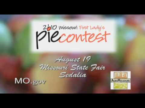 First Lady Georganne Nixon's 2010 State Fair Pie Contest