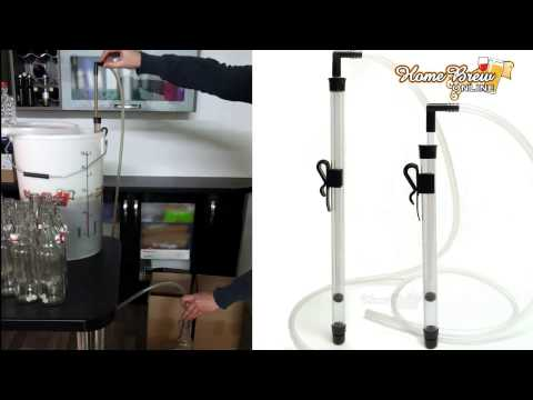 Home Brew Online Easy Flow Large Auto Syphon With Clamp