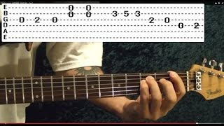 EASY! TWIST AND SHOUT By THE BEATLES Guitar Lesson With