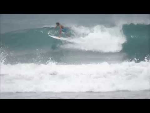 July 01 2014 Surfing Playa Hermosa Costa Rica