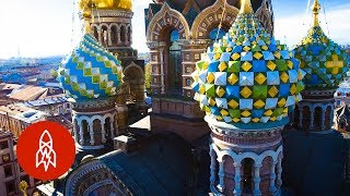 Saint Petersburg's Gilded Church of Blood and Potatoes