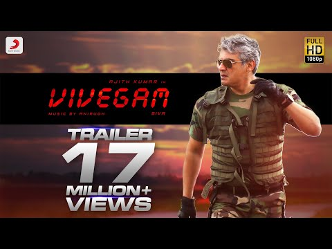 Vivegam Official Tamil Trailer  Ajith Kumar  Siva  Anirudh Ravichander