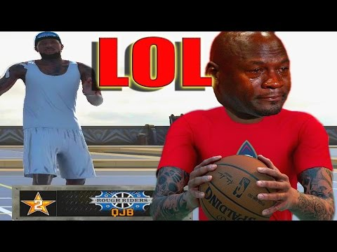 PLAYING AGAINST QJB HE MADE ME RAGE QUIT AND CRY   NBA 2K16 MY PARK