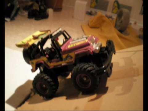 Rc Nikko Tronico Old School Rc Jeep Truck Big Grolly