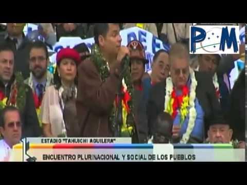 Presidente Rafael Correa en Bolivia G77 Discurso