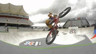 BMX: X GAMES 2014- FIRST PARK PRACTICE VIDEO