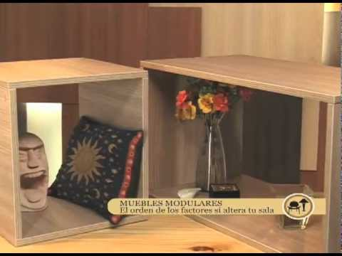 C mo hacer muebles modulares youtube for Fabricar muebles