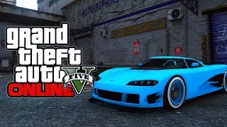 GTA 5 Secrets - Secret Fluorescent Blue Paint ! How To Get Fluorescent Blue Paint On Cars (GTA V)