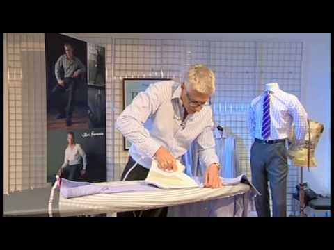 TM Lewin How To Iron A Shirt