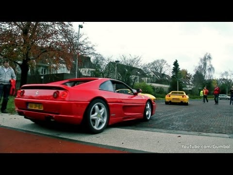 Ferrari F355 F1 Berlinetta - Great sounds!