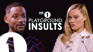 Suicide Squad stars Will Smith & Margot Robbie Insult Each Other