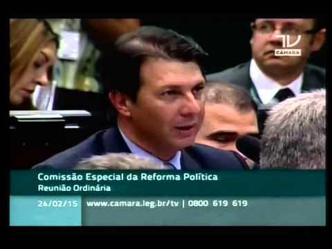 Comissão Especial da Reforma Política. Dep. Arthur Maia (SD-BA)
