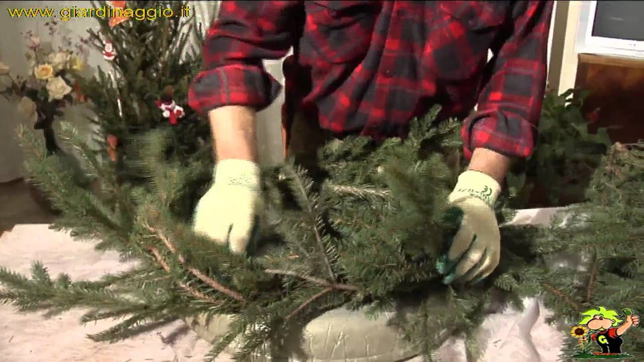 Addobbi e ghirlande youtube - Rami decorativi natalizi ...