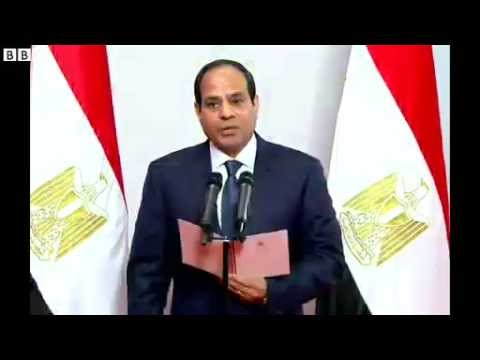 Abdul Fattah Al-Sisi Sworn In As Egypt's New President