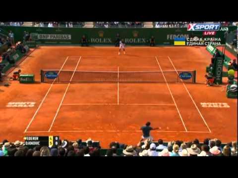 Monte Carlo 2014 Roger Federer   Novak Djokovic