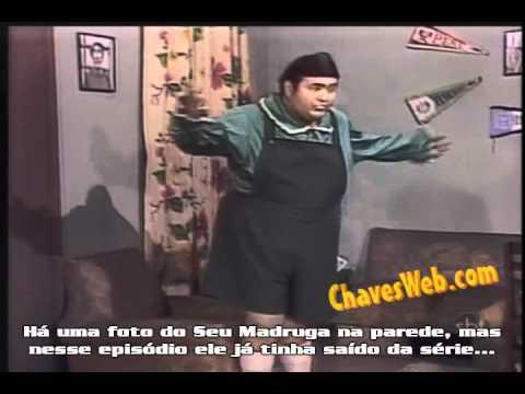 Erro do Chaves: Foto do Seu Madruga na parede