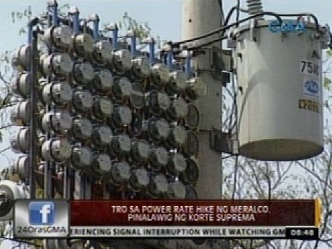 24 Oras: TRO sa power rate hike ng Meralco, pinalawig ng Korte Suprema