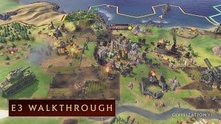 Sid Meier's Civilization VI - E3 2016 Játékmenet videó