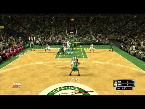 NBA 2K14: Milwaukee Bucks vs Boston Celtics Gameplay