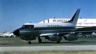 McDonnell 220 Business Jet Promo Film 1959