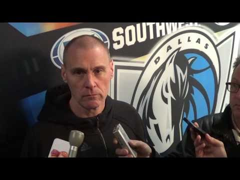 DALLAS 108 - PORTLAND 106: RICK CARLISLE INTERVIEW: GARY G (IVNEWS)