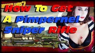 Borderlands 2 How To Get A Unique Maliwan Pimpernel Sniper