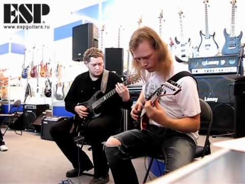 Tantal masterclass at ESP Booth at Music Moscow 2010 show