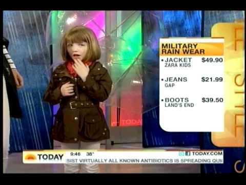 Chassie Post Today Show Mommy & Me Raincoats Fashion