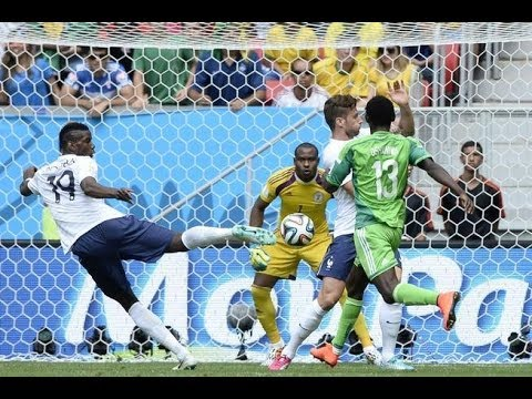 France Advances to Quarterfinals; France vs Nigeria 2014 FIFA World Cup Round of 16 Results