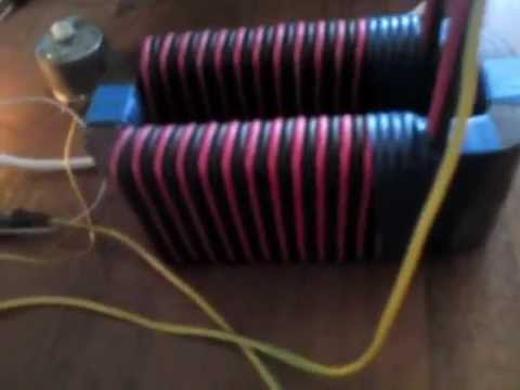 Тесла генератор свободной энергии своими руками