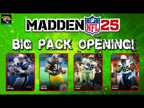 "MUT 25 - Football Outsiders Pack Opening! ELITE Tom Brady! ""Madden Ultimate Team 25"" ""Madden 25"""