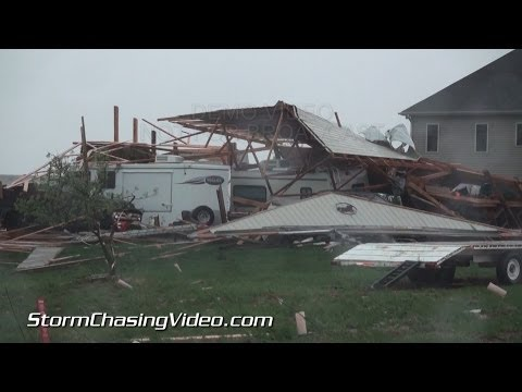 5/11/2014 Seward, NE Tornado Damage B-Roll
