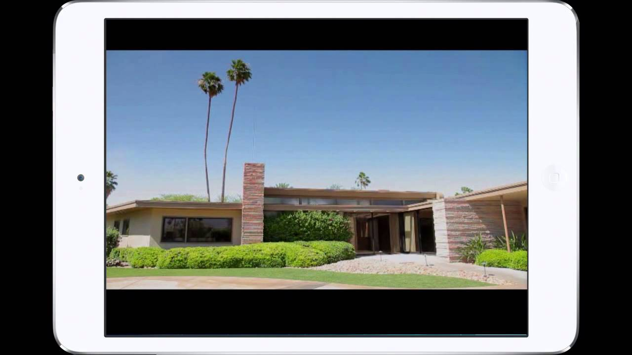 Palm springs modern mid century architecture tour app for R architecture tours