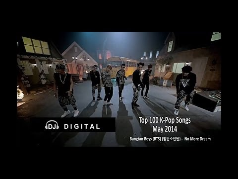 Top 100 K-Pop For May 2014 (Month End Chart)